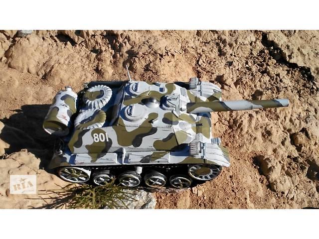 бу Масштабная модель танка, военная техника (САУ) Самодел - ручная работа. в Киеве