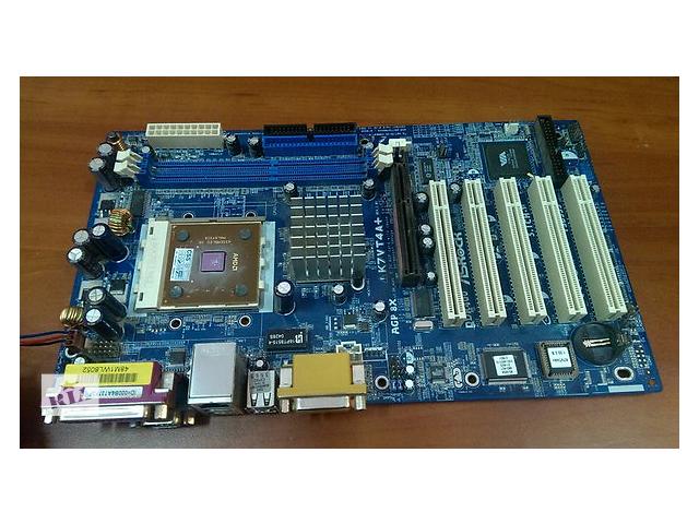 Материнская плата ASRock K7VT4A PRO/L+процессор - объявление о продаже  в Кропивницком (Кировограде)