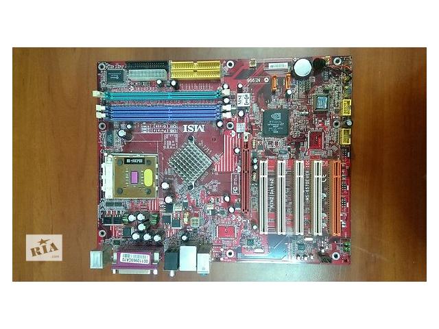 Материнская плата MSI K7N2 DELTA2+процессор- объявление о продаже  в Кропивницком (Кировограде)