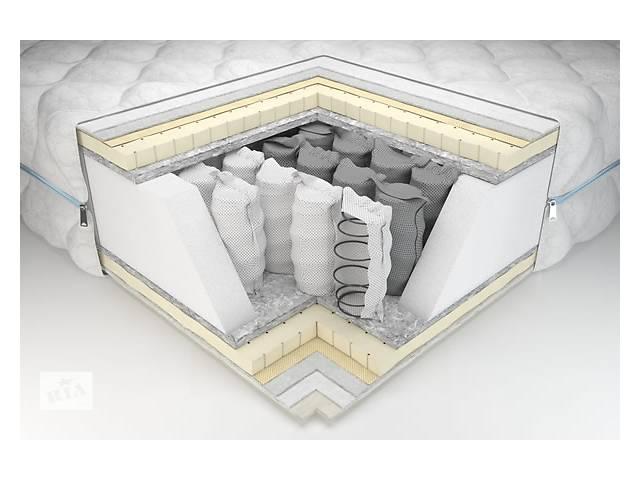 купить бу Матрас Prestige 160х200 с латексом и независимыми пружинами в Львове