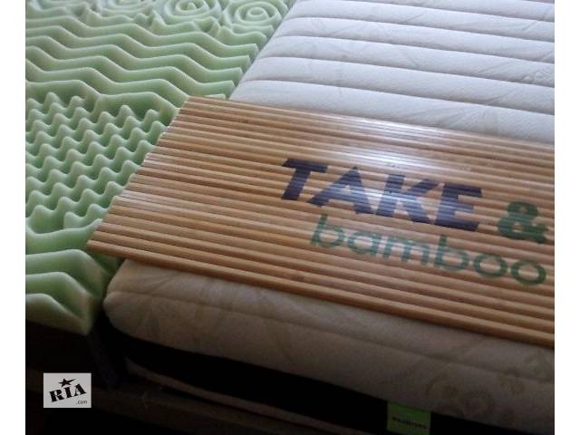 Матрас Take&Go Bamboo (беспружинный)+подарок! - объявление о продаже  в Киеве