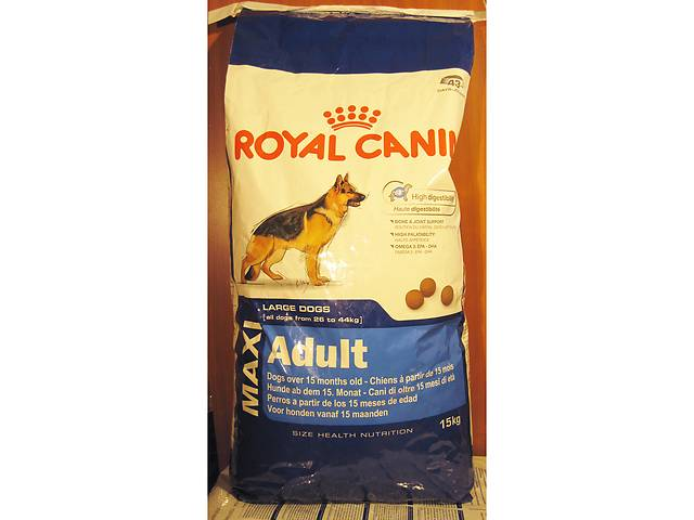 Корм royal canin maxi adult 20 кг