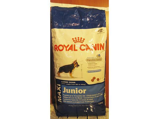 Корм royal canin junior maxi 20