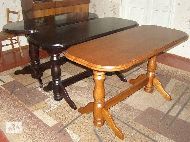 купить бу Продаётся дубовый стол новый в Чернигове