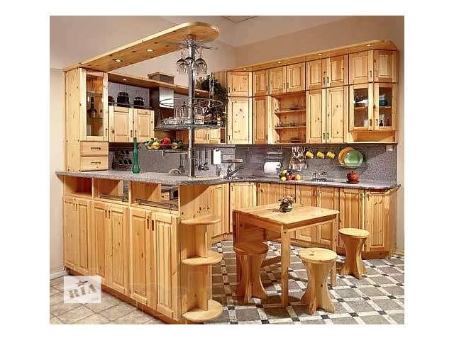 Мебель для кухни из дерева- объявление о продаже  в Виннице