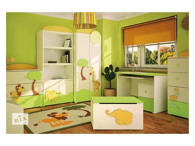Дизайн мебель в детскую