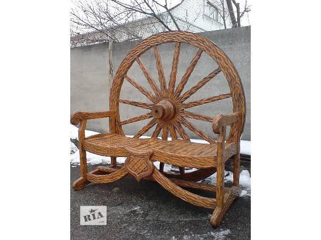 продам Декор для сада . Изделия из дерева под заказ, на любой вкус...! бу в Ракитном (Киевской обл.)