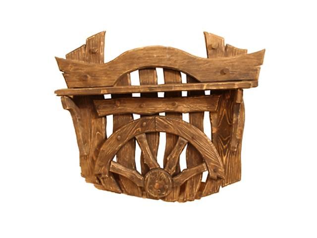 бу Мебель из дерева на заказ, Вешалка под старину в Киеве