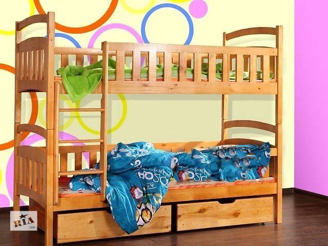 бу Мечта каждого ребенка! Двухъярусная кровать Карина от производителя! в Киеве