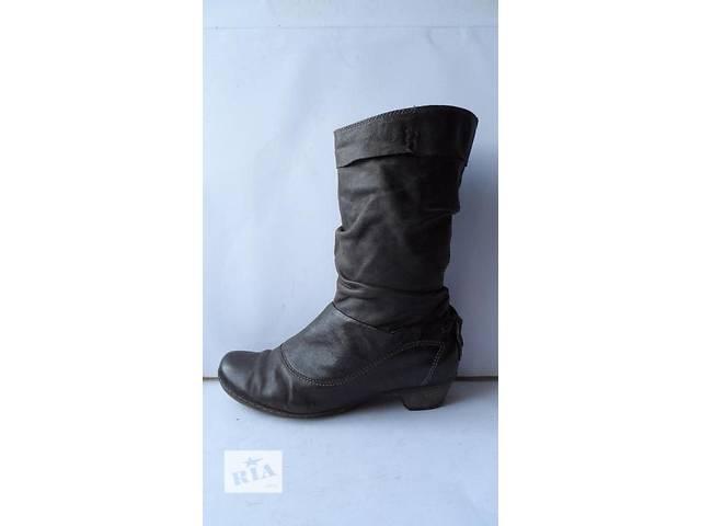 Мега-удобные кожаные сапоги от air step.размер 40- объявление о продаже  в Калуше