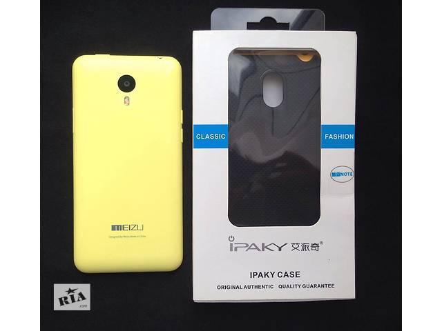 продам MEIZU M1 note 16gb yellow + подарок чехол бу в Киеве