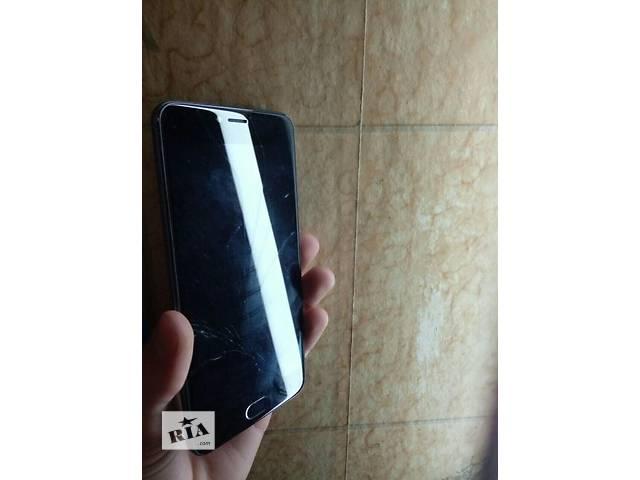 купить бу Meizu M3 note 32 GB разбит экран  в Киеве