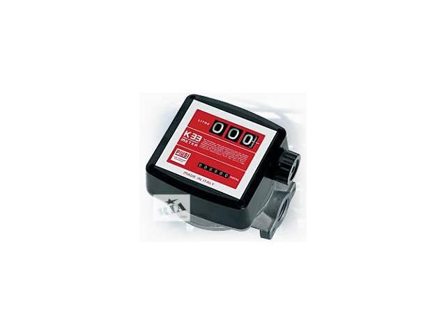 Механический счетчик Piusi K33 (20-120л/мин) для перекачки дизтоплива,Италия- объявление о продаже  в Луцке