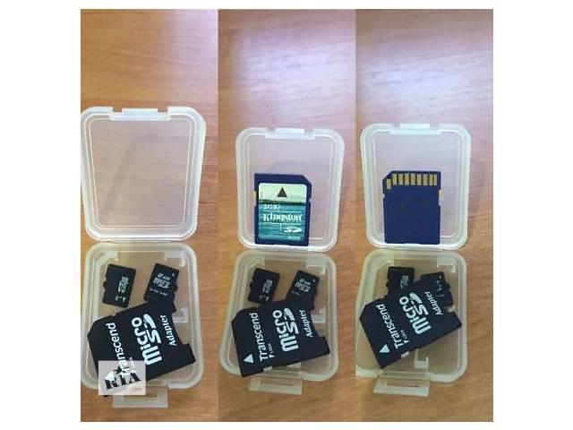 продам MemoryCard  MicroSD 8GB class4 & 10 бу в Рубежном