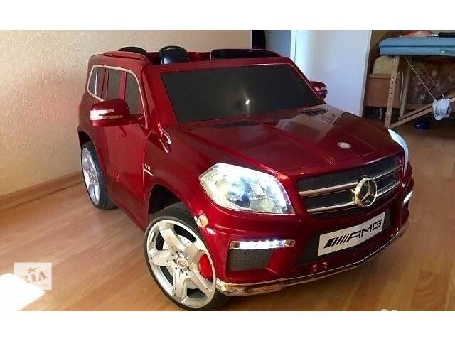продам Mercedes-Benz GL-63 ЛИЦЕНЗИОННЫЙ детский электромобиль бу в Одессе
