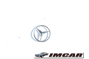 Эмблема Mercedes S-Class