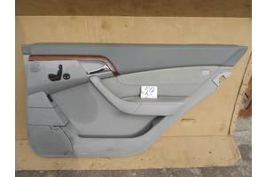 Карта двери Mercedes S-Class