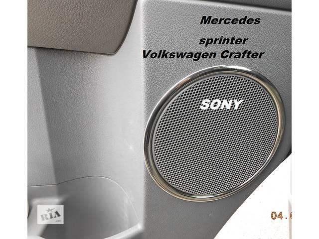 Mercedes Sprinter 906 Хромнакладки на карты дверей- объявление о продаже  в Киеве