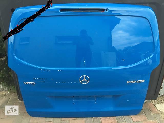бу  Mercedes Vito W447 2014-2016 Б/у крышка багажника в Тернополе
