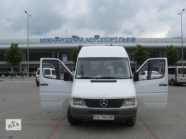 бу Мерседес Спринтер макси-база 8+1 с услугами водителя  в Украине