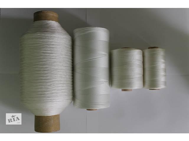 купить бу Мешкозашивочная нить (капроновая) для зашивки мешков 144 текс*3 в Харькове