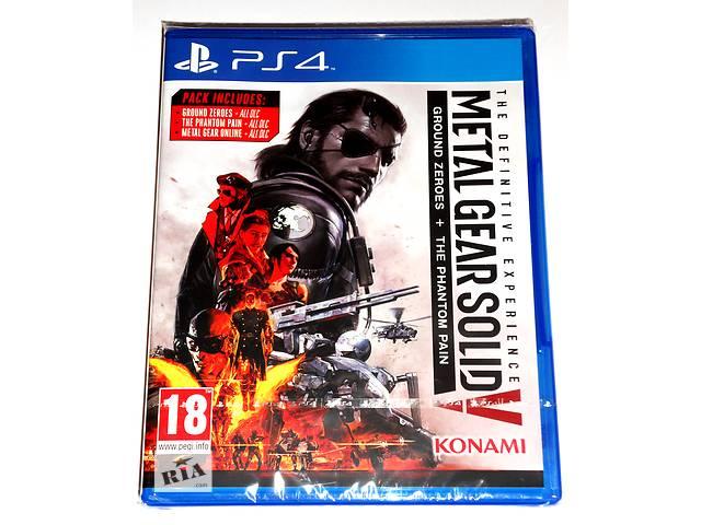 купить бу Metal Gear Solid V The Definitive Experience PS4 новый диск / русский / в наличии в Запорожье