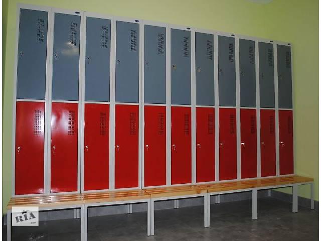 бу Металлические гардеробные шкафы новые в Львове