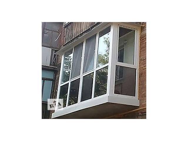 продам Металлопластиковые окна, двери, балконы под ключ! Расширение и обшивка балконов. бу в Буче (Киевской обл.)