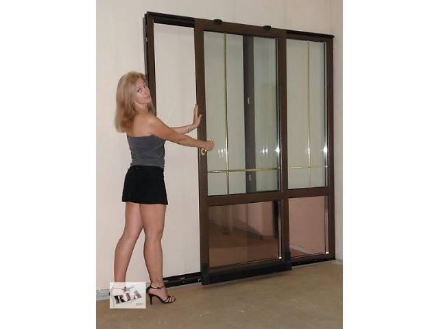 купить бу металлопластиковые раздвижные окна, двери, балконные рамы в Николаеве