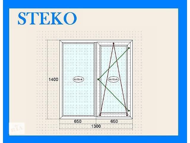 """Металлопластиковые окна """"Steko""""- объявление о продаже  в Сумах"""