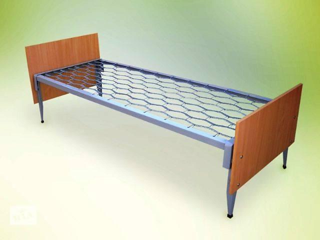 продам Металлические кровати со спинками из лдсп бу в Днепре (Днепропетровске)