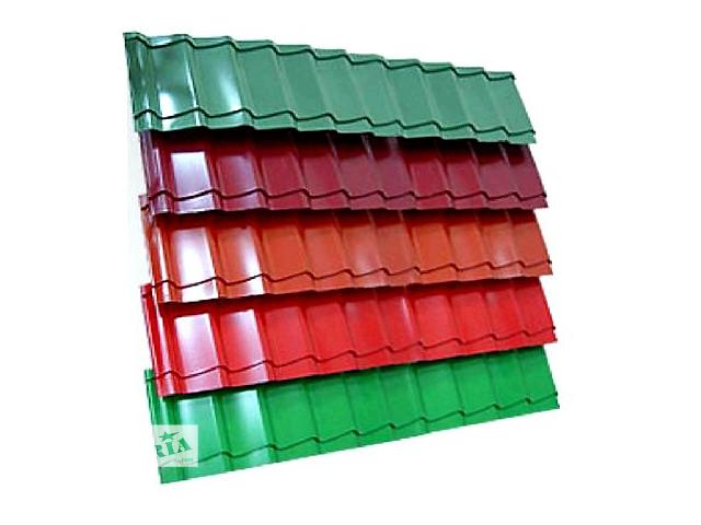 купить бу металлочерепица, профнастил и аксессуары для крыши. в Львове