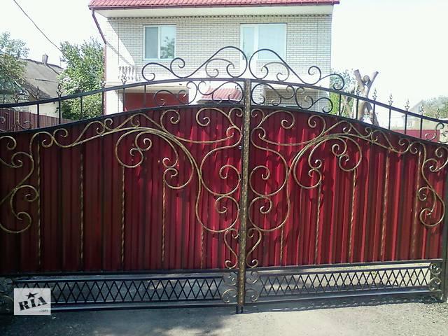 продам Металлоконструкции Художественная ковка Ворота, заборы, решетки, козырьки, двери, балконы. бу в Киевской области