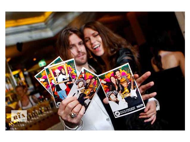 Мгновенное фото на мероприятии, моментальная фотопечать, фото студия- объявление о продаже  в Киеве