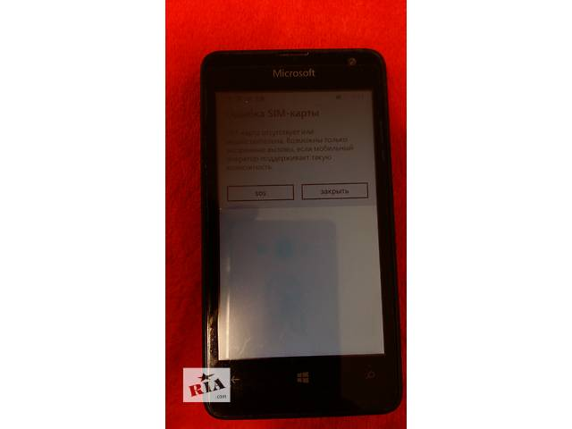 бу Microsoft Lumia 430 DS (Nokia) Black в Киеве
