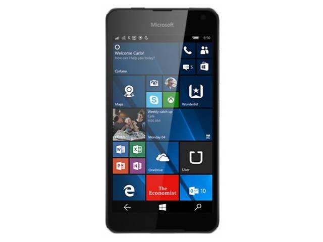 купить бу Microsoft Lumia 650 SS Black в Киеве