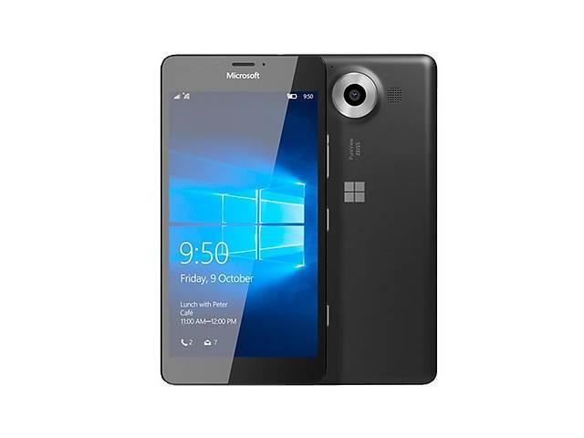 купить бу Microsoft Lumia 950 Dual Sim Black в Киеве