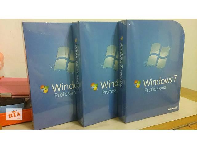 Microsoft Windows 7 Professional DVD BOX FQC-00133- объявление о продаже  в Тернополе