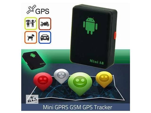 бу Mini A8 GSM сигнализация, трекер GPS, гарантия  в Ровно