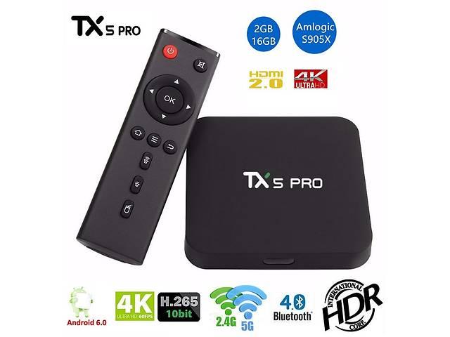 купить бу TX5 PRO - недорогой и мощный Смарт ТВ бокс, Amlogic S905X, 2/16GB в Киеве