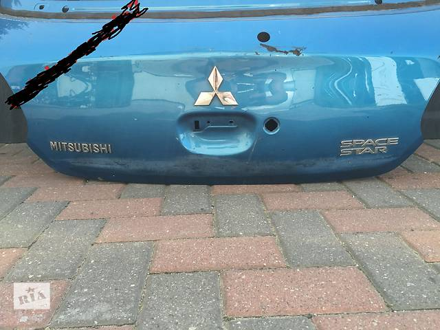 Mitsubishi Space Star 2012-2016 Б/у крышка багажника- объявление о продаже  в Бучаче