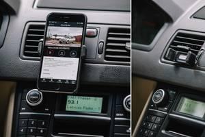 Автомобільні тримачі для мобільних