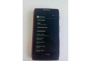 б/у Сенсорные мобильные телефоны Motorola Motorola Droid RAZR M