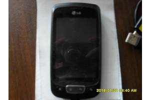 б/у Сенсорные мобильные телефоны LG LG P500 Optimus One Red