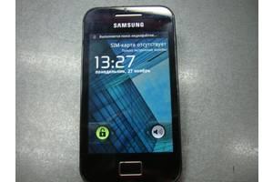 б/у Сенсорные мобильные телефоны Samsung Samsung S5830 Galaxy Ace Onyx Black