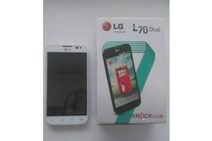 б/у Мобильные на две СИМ-карты LG LG L70 D325