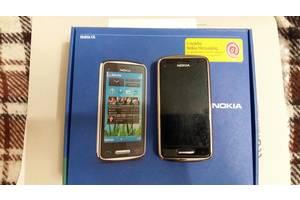 б/у Сенсорные мобильные телефоны Nokia Nokia C6-01 Silver Grey