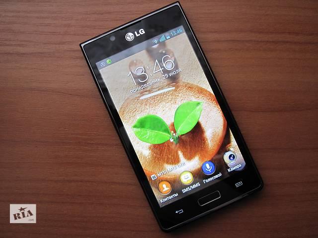 """купить бу Мобильный телефон LG P700 Optimus L7 - 4,3"""" - IPS - 2 ядра - Идеал ! в Херсоне"""