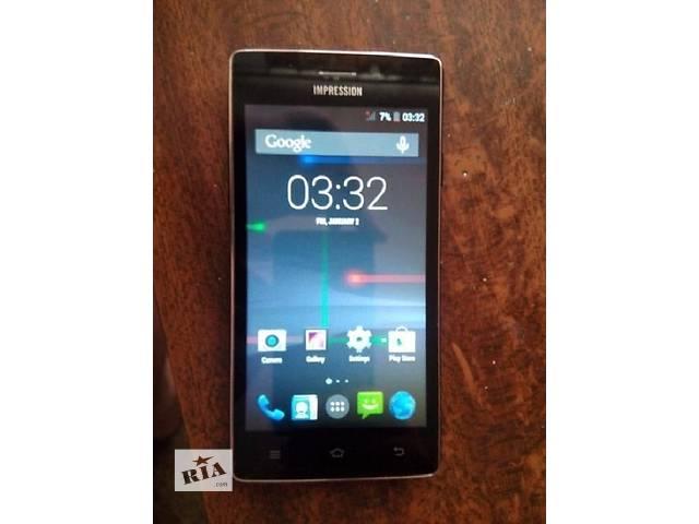 "купить бу Смартфон Impression ImSmart A501 - 3G - 5"" - IPS - 2 Ядра - 2 SIM -Идеал ! в Херсоне"