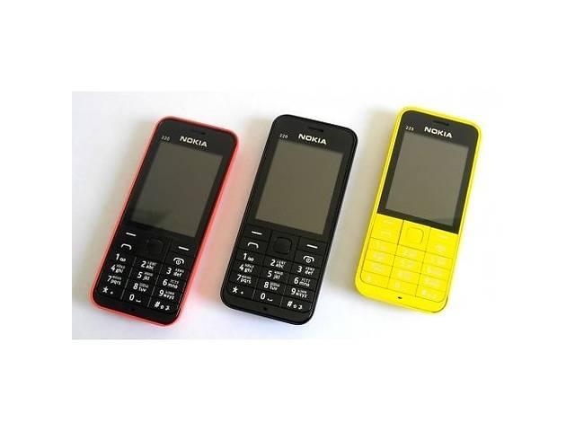 бу Мобильный телефон Nokia Asha 220 Dual Sim ЖЕЛТЫЙ/КРАСНЫЙ в Запорожье